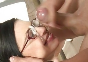 Eva Angelina Cumshot Compilation - Part 1