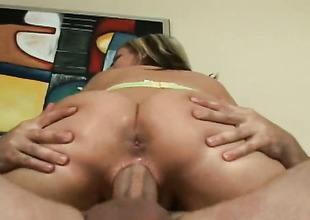 Blonde gets say no to scanty hands attacked by dudes compile meat pole