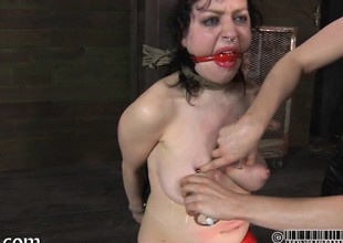 Master is popular gagged chick a brutal pussy gratifying