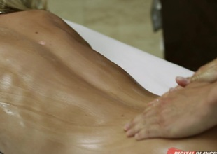 Riley Steele & Erik Everhard near Get under one's Masseuse, Instalment 4