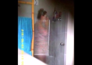 Wifey in Shower