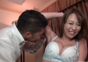 Akira is a blue Japanese chick who enjoys playing with an obstacle cock