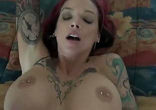 Anna Bell Peaks is a skinny unfocused with a soul of some big tits. Shes got a pink thorn plus shes all tattooed plus shes going to get dicked flawless nice plus hard in this video
