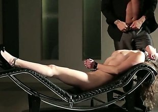 Upon this video we see the bonny Casey Calvert get on all sides tied up. She lays on the couch helpless in bondage with the addition of expect to be fucked hard.