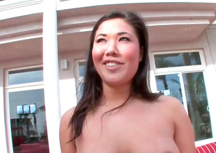 Sexy Asian slut London with nice curves gets fucked altogether hard