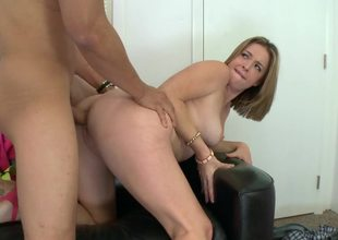Sierra Sanders loves big dick doggystyle sex on rub-down the casting couch