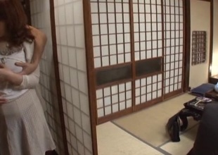 Tomori Tokine mature Asian babe gets tits fucked