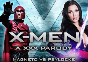 Relevantly Michova & Danny D nearby XXX-Men: Psylocke vs Magneto XXX Nudie - Brazzers