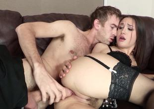French Irish colleen Gabriella Paltrova ass fucked overwrought a monster cock