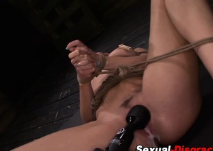 Bdsm slaves ass rammed