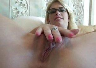 Horny Allie James POV Date with a creampie