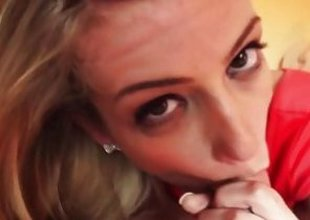 Amanda Tate Simmering blonde with a bangin body