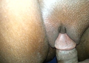 cum twofold on wife's creamy pumped burgle