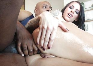 Big black cock be required of sexy ass pussy pie Juelz Ventura