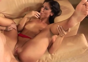 Luscious Lopez fucked in say no to cunt plus asshole