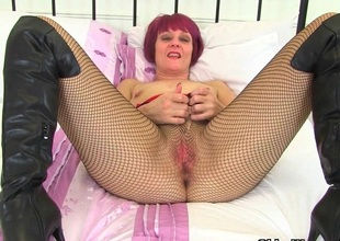 My blue-eyed boy British milfs in fishnet pantyhose