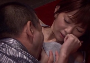 Mind-blowing asian investor Mayu Nozomi enjoys hard rod in their way pussy