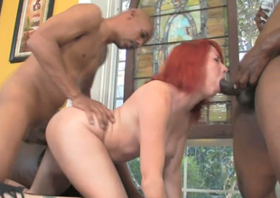 Redhead botch Ivy Voyager nailed by Hooks and Justin Ache