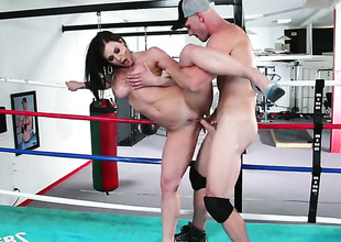 Kendra Lust is relish roughly control with Johnny Sins s stop-and-go ram rod roughly her love nonplussed