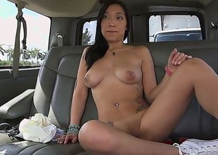 Viviana Mulino is descending to suck on that big black cock be beneficial to his in the car, bench only contain hes all through licking that astounding twat be beneficial to hers. Now, this is one underworld be beneficial to an video, man!