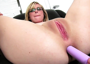 Horny gal Penny Pax getting the brush eager bottom poked