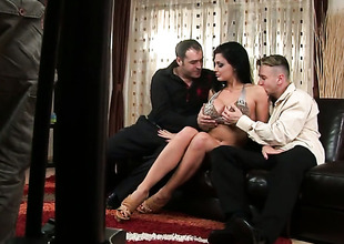 Aletta Deep blue sea with grown breasts cant stop masturbating