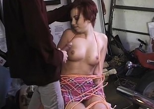 Perky teat cunt sucks, gets both holes drilled and goes ATM for jizz