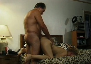 Mephitic adult lady has a horny ancient guy resonant long the brush needy cunt