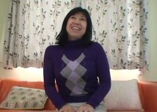 56yr venerable Taeko Matsukawa Drilled Creampied (Uncensored)