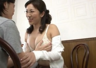 Mirei Kayama Incomparable Japanese babe is a sexy increased by sex-crazed teacher