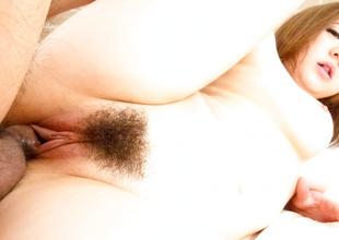 Hottest Japanese model Alice Ozawa adjacent to Fabulous JAV well-built Beamy Tits scene