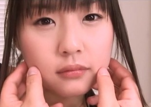 Nice Asian maturing Tsubomi roughly swimsuit fingering pov action