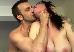 Kandi - Punishing Kandis sopping bawdy cleft in doggy