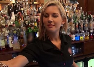 Who wanted respecting fuck a barmaid?