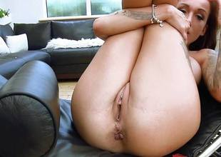 Dirty british babe Chantelle Fox rammed deep in will not hear of sexy pussy and asshole