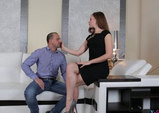 Guy cheats on his wife with his super hot scrivener
