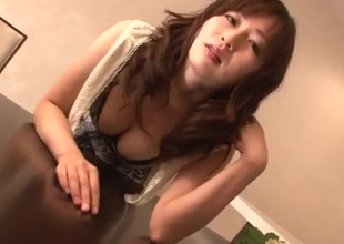 Cum in mouth be proper of load of shit sucking Nozomi Hazuki