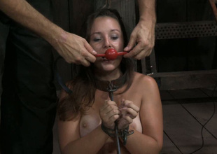 This video is in every direction about pulling chick being dominated in the dungeon