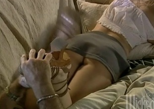 Amazing anal sex in the matter of beautiful blonde in high heels