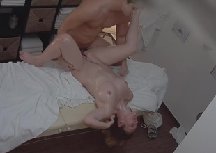 Sexy Massage Turns procure Hardcore MILF Fuck more Orgasm