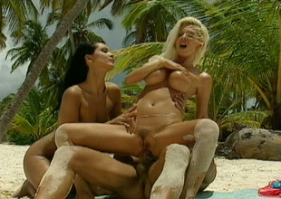 Lecherous beauty Stefania Bruni coupled with will not hear of GF fuck one hot mendicant