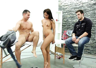 Nomi Melone has great cock sucking experience plus expands it with hot bang consort with Totti