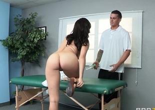 Calumnious Masseur: Internal Bottomless gulf Tissue Massage. Holly Michaels, Clover