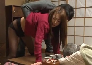 Amazing Japanese sculpt Akari Minamino, Marin Nagase in Incredible Wife JAV movie