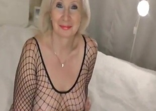 Imbecile homemade Mature, Stockings porn videotape