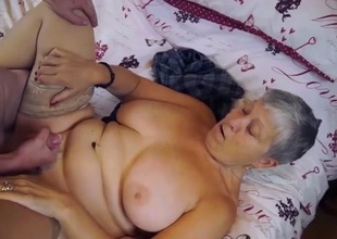 AgedLovE Chubby Grannies Hardcore With Convenient Guys