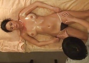 AMWF Latina Bijou interracial with Asian guy