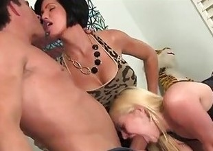 Slutty Teen Babysitter Plagued by Depressed Couple!