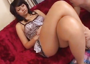 Foot fetish porn scenes chat with hot Japanese AV Model