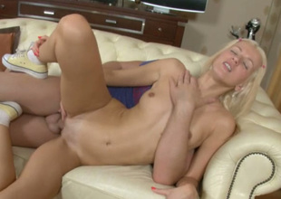 Irene is ever after in the mood for some nice pussy stretching carnal knowledge